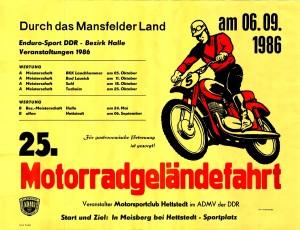 Durch das Manfelder Land 1986